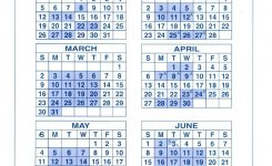 New York State Fiscal Year Calendar Jill Davis Design