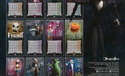 Nightmare Before Christmas Calendar 2018 Uk Jill Davis Design