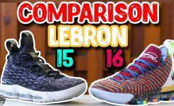 Nike Lebron 15 Lebron 16 Comparison Whats Better Youtube