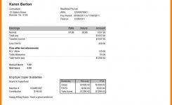 Normal Salary Slip Format Underbergdorfbibco