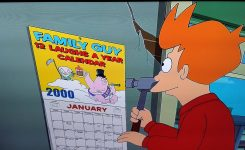Noticed This While Watching Futurama The Other Day Shots Fired Est