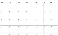 November 2019 Printable Calendar Week Printable Calendar