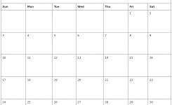 November 2019 Printable November Calendar