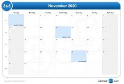 November008 Calendar