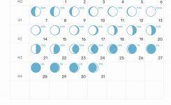October Moon Calendar 2019 Moon Cycle For October 2019 Calendar
