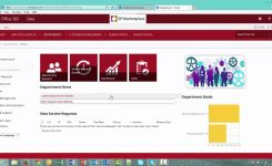Office 365 Sharepoint Department Template Overview Youtube