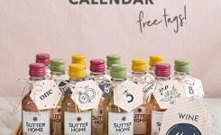 Omg, No Way! This Diy Mini-Wine Advent Calendar Is Amazing