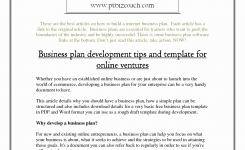Online Ecommerce Business Plan Awesome Merce Business Strategy E