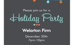 Order Form Christmas Party Invitations Holiday Party Invitations