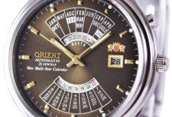 Orient Automatic 21 Jewels New Multi Year Calendar