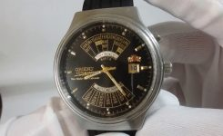 Orient Multi Year Calendar Mens Wrist Watch Automatic Black