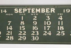 1914 Calendar Uk