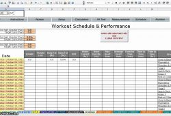 P90x Worksheets Excel