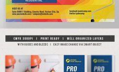 Paint Services Flyer Envato Test Business Flyer Templates