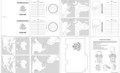 Passport Template For Kids Printable Passport Design Paper For