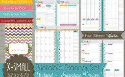 Personal Calendar Organizer Idealvistalistco