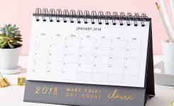 Personalised Every Day 2018 Desk Calendar Martha Brook