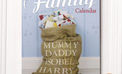 Personalised Family Calendar 4th Edition Gettingpersonalcouk