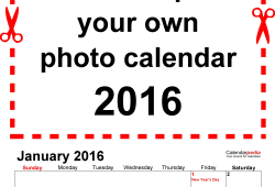 Personalized Calendar Maker Free