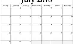 Pin Monthly Calendar On July Calendar 2018 Pinterest July
