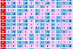 Chinese Fertility Calendar
