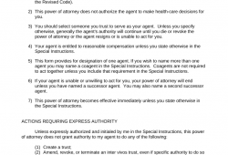 Durable  Power  Of  Attorney  Ohio  Forms  Free