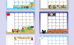 Preschool Printable Calendars 6 Best Of Free Printable Preschool