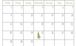 Print December Calendar Incepimagine Exco