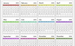 Print Free Calendar 2018 Uk Flash Design