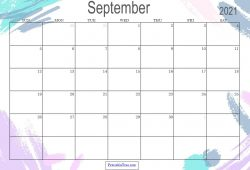 Print Free Calendar Sep 2021