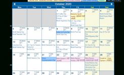 Print Friendly October 2020 India Calendar For Printing