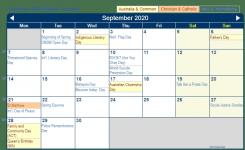 Print Friendly September 2020 Australia Calendar For Printing