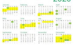 Print It Sas 2020 School Holiday Calendar Parent24