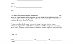 Printable Authorization To Release Information Template 2015
