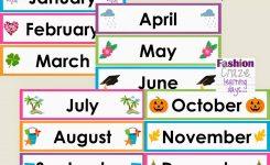 Printable Calendar Headings Printable Calendar 2019