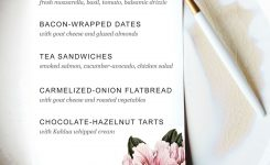 Printable Dinner Party Menu Template Party Planning Dinner Party