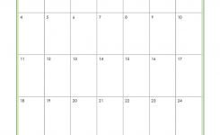 Printable Monthly Calendars Organized Home
