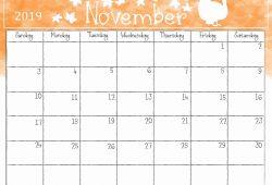 Free 2019 Printable Calendar Template