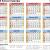 Printable School Calendar 2019 15