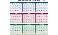 Promotional Single Sheet Wall Calendar Full Year Views With Custom
