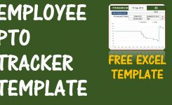 Pto Calculator Excel Template Employee Pto Tracker Vacation