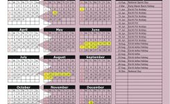 Qatar 2018 2019 Holiday Calendar