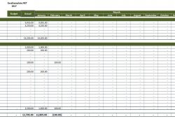 Rental Property Income And Expense Spreadsheet