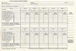 Hvac Load Calculation Spreadsheet