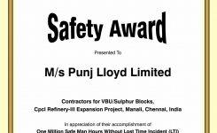 Safety Award Certificate Template Canasbergdorfbibco