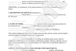 Project Contract Agreement Template