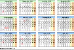 At A Glance Calendars Uk