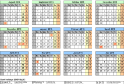 Printable Calendars For School Year