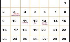 September 2018 Calendar With Holidays Templates Tools