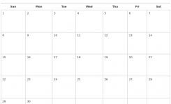 September 2019 Calendars Free